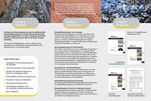 EUROMEDIAHOUSE gewinnt Ausschreibung für das neue Corporate Design der DERA (Deutsche Rohstoffagentur bei der Bundesanstalt für Geowissenschaften)