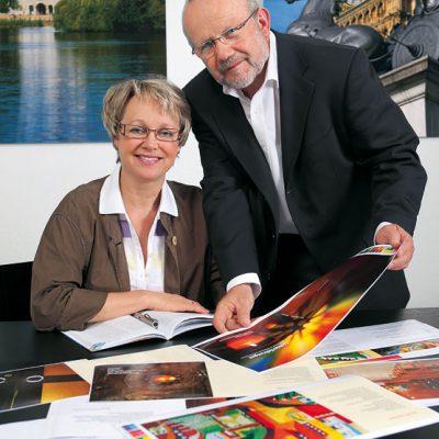 Monika Rudolph und Manfred Zimmermann
