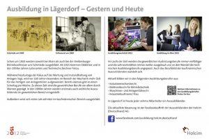 Jubiläumsbroschüre 150 Jahre Zementproduktion in Lägerdorf